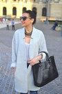 Heather-gray-mango-coat-blue-zara-jeans-black-mango-bag
