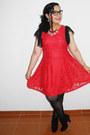 Black-boots-red-dress