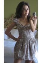 spiderflower sweetheart dress