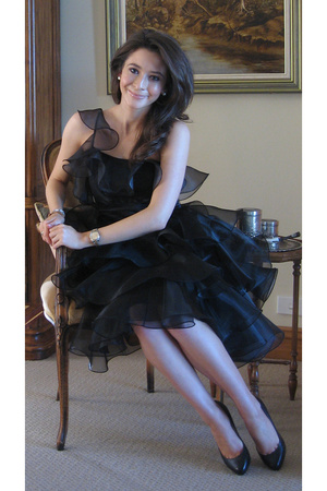 Betsey Johnson dress - Louboutin shoes