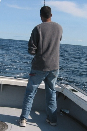 Tommy Hilfiger jeans - Reebok shoes - Gap sweater
