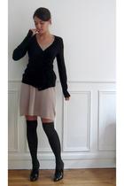 H&M jacket - SANDRO dress - H&M socks - Zara shoes