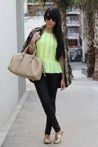 blouse - shoes - jacket - bag