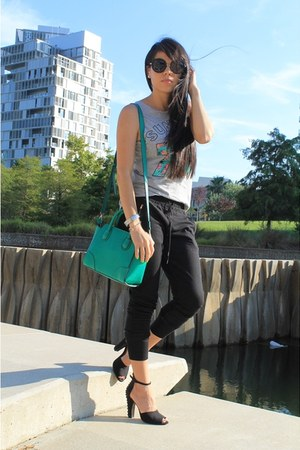 Parfois bag - Zara pants
