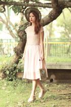 light pink Varrie skirt - neutral RARE top