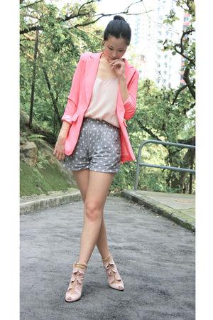 pink Anna Rose blazer