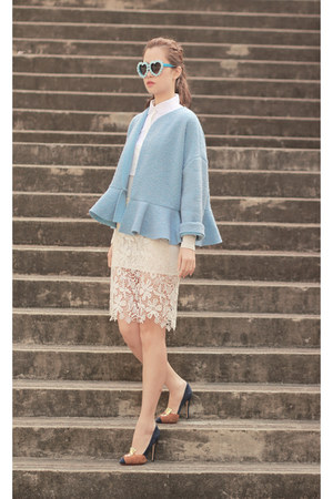 light blue chictopia shop storets jacket