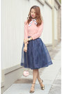 Cream-kate-spade-bag-navy-chicwish-skirt-light-pink-wanderclad-top