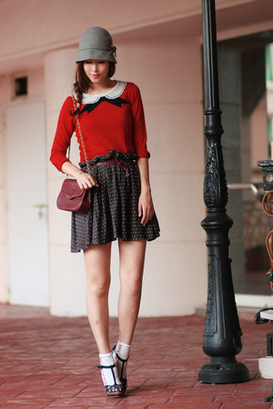 ruby red becky bloomwoods wardrobe blouse