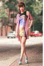 Violet-chicwish-dress-periwinkle-sugarfree-shoes-heels