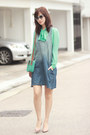 Blue-ianywear-dress-aquamarine-american-apparel-shirt-aquamarine-romwe-bag