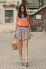 Tan-kate-spade-bag-sky-blue-wwwyesstylecom-skirt-orange-wwwchicwishcom-vest