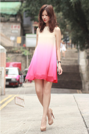 hot pink Chaceylove dress