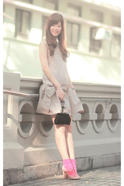 redvalentino dress - redvalentino bag - redvalentino heels