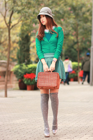 tawny Chicwish bag - teal Colt Nava accessories - sky blue Yesstyle skirt