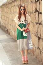 teal Stylenanda dress