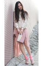 shoe girl heels - urban blues skirt - PLAN