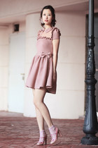 light pink redvalentino dress