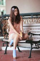 eggshell Giuseppe Zanotti heels - cream Miss Selfridge vest
