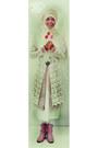 Pink-nevada-boots-white-dress