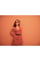 forever 21 dress - Impo shoes - forever 21 sunglasses - Target belt