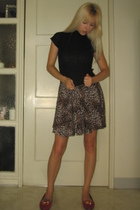 by corpus dress - Anna Sui for Target shirt - deena and ozzy shoes - vintage jac