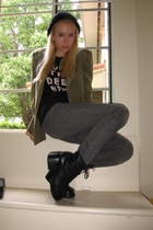posh blazer - Marc by Marc Jacobs t-shirt - Forever 21 pants - Urban Outfitters