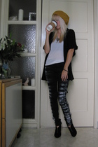 BDG hat - BCBG top - Urban Outfitters pants - Urban Outfitters shoes
