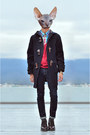 Crimson-brogues-doc-martens-shoes-navy-duffel-coat-zara-coat