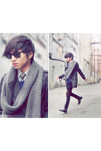 knit scarf H&M scarf