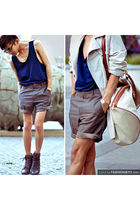 gray INC shorts