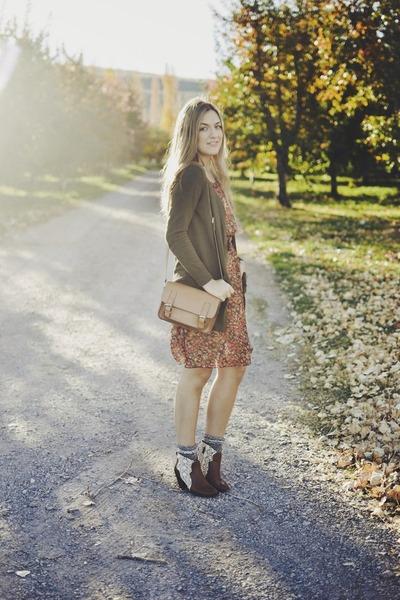 dark brown crochet francescas boots
