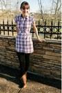 Brown-forever-21-boots-light-pink-macys-dress