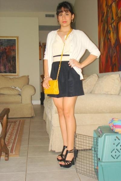 cynthia steffe sweater - random find blouse - Zara skirt - forever 21 shoes - ni