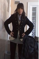 Ebay jacket - forever sweater - LnA shirt - jeans