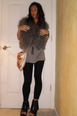 Fur in the Rain