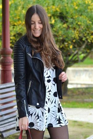 Deichmann boots - milanoo dress - Stradivarius jacket - Zara bag