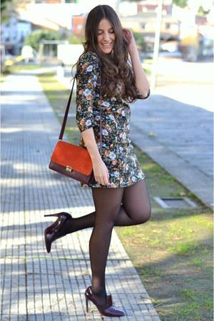 Zara dress - Zara bag - Zara heels
