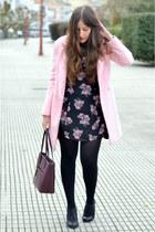 Choies coat - Deichmann boots - H&M dress - Ralph Lauren bag