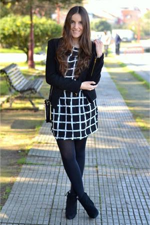 Zara boots - wholesale dress - Sheinside jacket