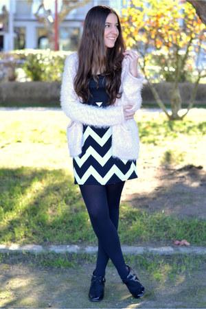 Bershka cardigan - Marypaz boots - wholesale dress
