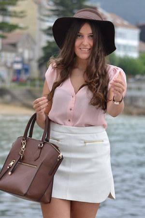 Parfois hat - Parfois bag - Zara skirt
