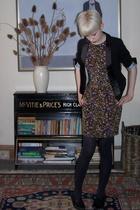 Topshop jacket - Topshop dress - Office shoes