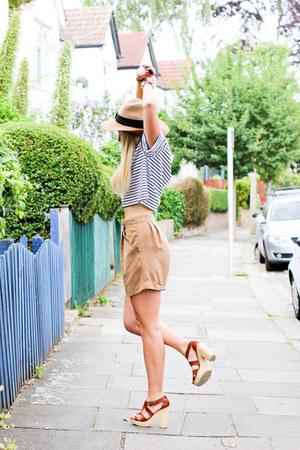 breton Topshop top - Topshop shorts