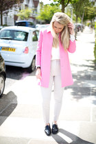 pink coat Zara jacket