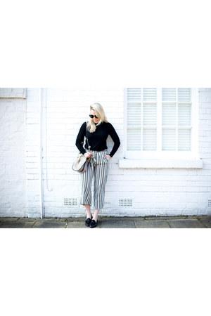 stripes Zara pants
