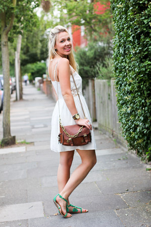 strappy sandals Topshop dress