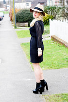 lace Zamrie dress - Anthropologie hat