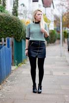 leather warehouse skirt