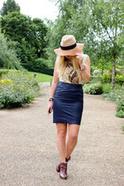 navy lavish alice skirt